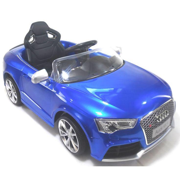 details about licensed rastar audi rs5 12v kids ride on childrens toy car remote control