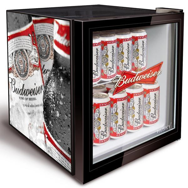 Budweiser Bottle Design Mini Fridge | Mini Cooler Fridges Beer Fridge Small Cooler - Buy at drinkstuff