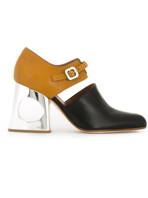 Shop Marni colour block pumps in O' from the world's best independent boutiques at farfetch.com. Shop 400 boutiques at one address.