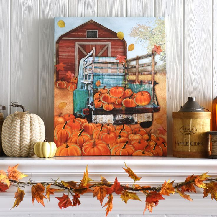 Best fall decorating images on pinterest autumn home