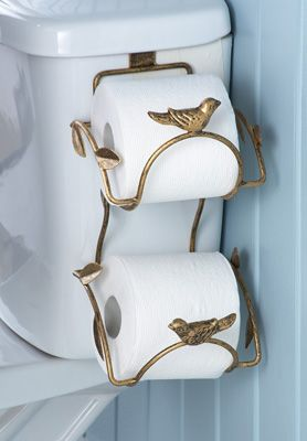 Metal Leaf Bathroom Toilet Paper Holder