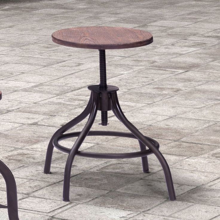 air max 90 cork for sale Zuo Plato Adjustable Bar Stool   from hayneedle com