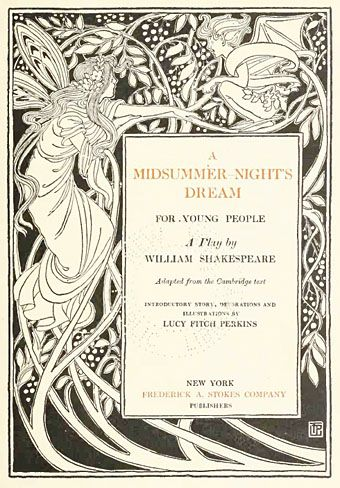 Dream and reality in shakespeares a midsummer nights dream