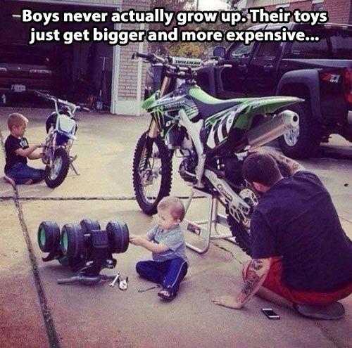 Boys dont grow up