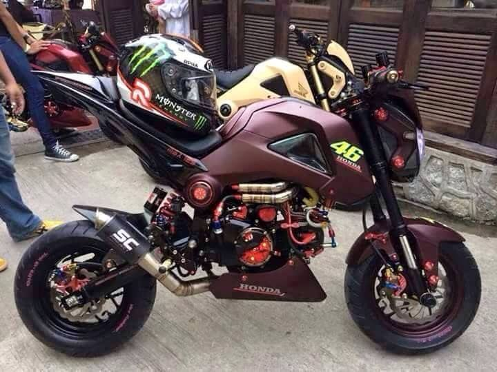 81 Best Images About Grom On Pinterest Honda Ruckus