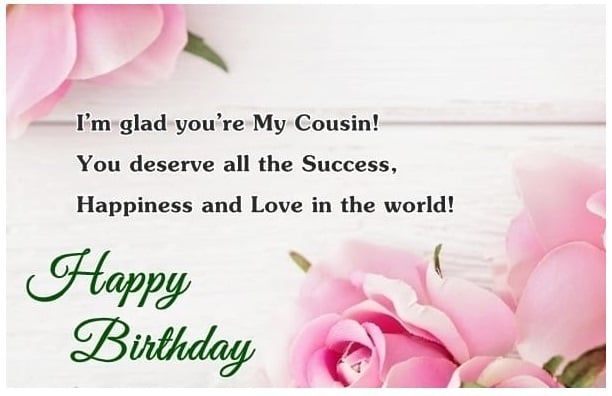 Pin On Birthday Wishes Cousin