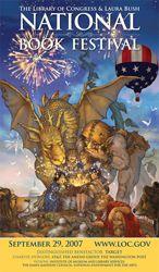 2007 Library of Congress National Book Festival Poster. Poster Artist: Mercer Mayer.
