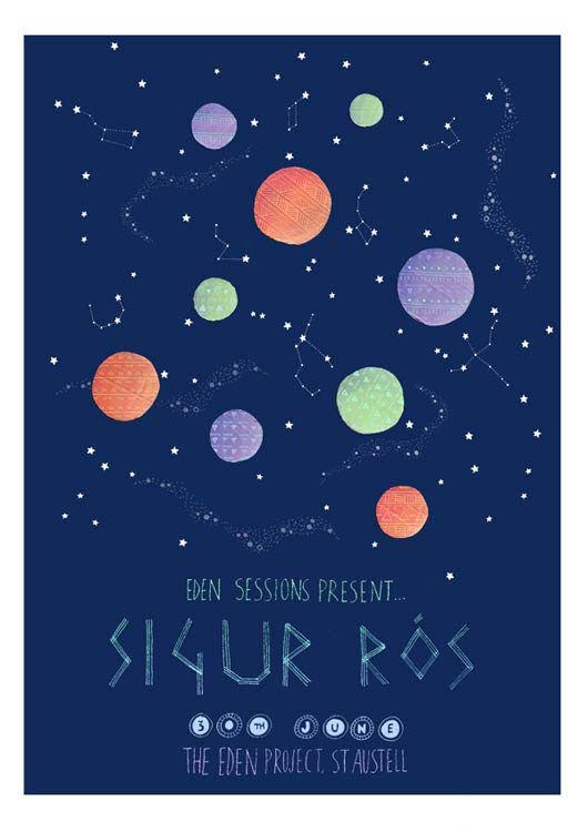 sigur ros music gig posters | Gig Poster Design