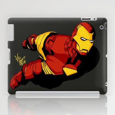 Starks In-Flight 2 iPad Case by Vee Ladwa - $60.00
