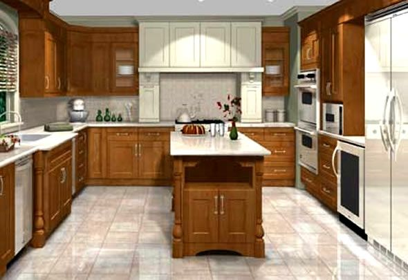 Free Kitchen Designer Software with 3-d Floor Plans