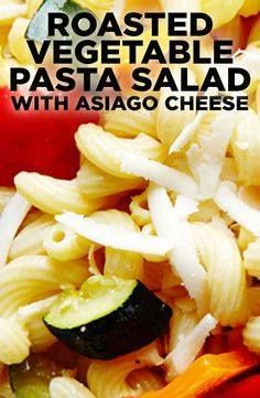 Looking for the perf Looking for the perfect pasta salad? Search no further because this quick and easy recipe for Roasted Vegetable Pasta Salad fits the bill a superb salad bursting with the flavors of sweet oven-roasted vegetables Asiago cheese fresh oregano and sun-dried tomatoes. #BiteMeMore Recipe : http://ift.tt/1hGiZgA And @ItsNutella  http://ift.tt/2v8iUYW  Looking for the perf Looking for the perfect pasta salad? Search...