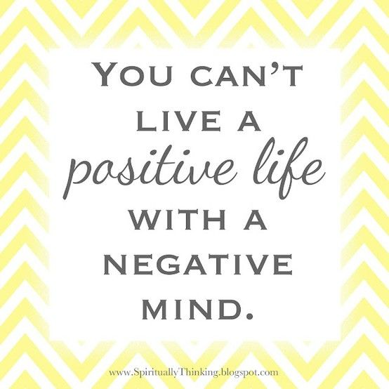 live a positive life!Happy Thoughts, Remember This, Thinking Positive, Inspiration, Quotes, Positive Life, Negative Mindfulness, Positive Thoughts, Living
