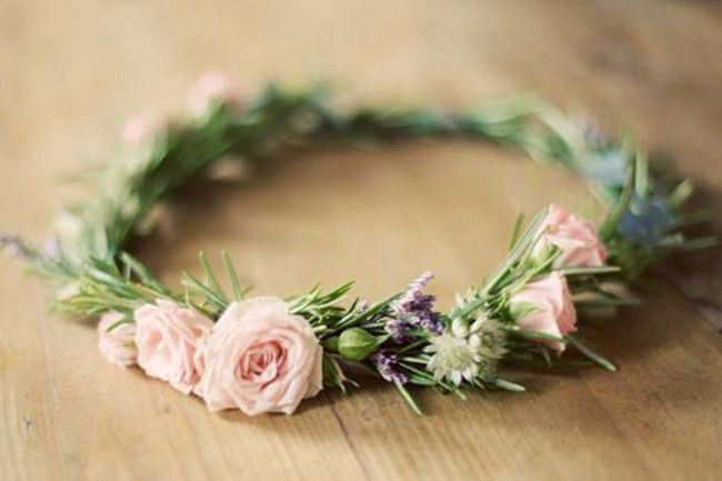 23 gorgeous flower crowns gallery 13 of 23 - Homelife