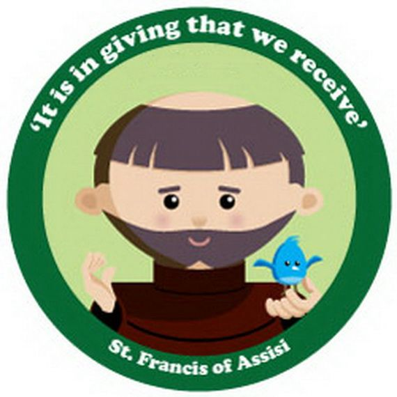 St. Francis of Assisi Coloring pages for Catholic Kids -