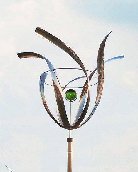 Die besten 25+ Windspiel edelstahl Ideen auf Pinterest Perlen - gartendeko edelstahl windspiel
