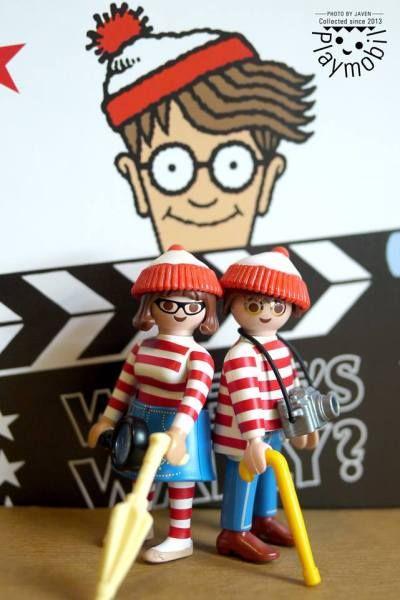 Buscando a Wally #playmobil