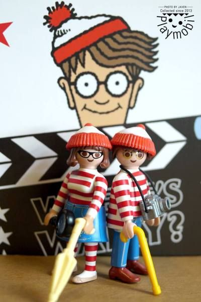 Buscando a Wally #playmobil