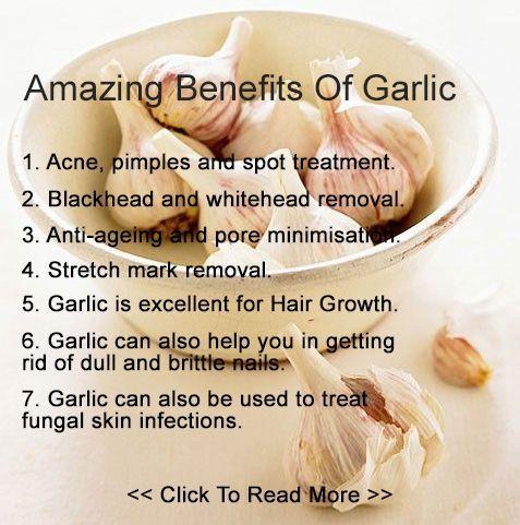 7 Amazing Benefits Of Garlic