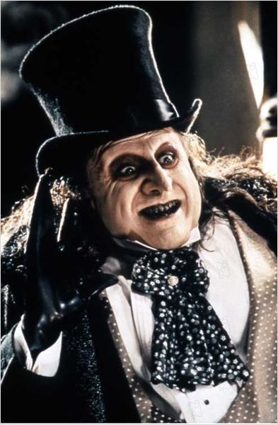 Danny DeVito as the Penguin...he always scared me as a child