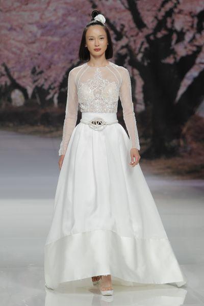 Vestidos de novia para mujeres delgadas 2017: ¡30 diseños espectaculares! Image: 19