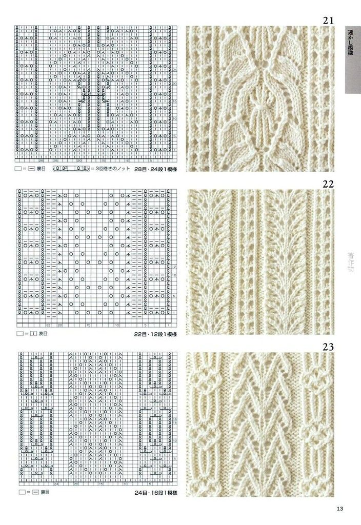 Knitting Stitch Patterns Book : 3116 best images about knit stitches on Pinterest Cable, Knit patterns and ...