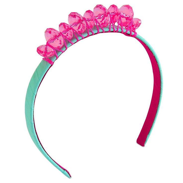 Girls' Jeweled Crown Headband Cat & Jack - Green/Pink, Girl's