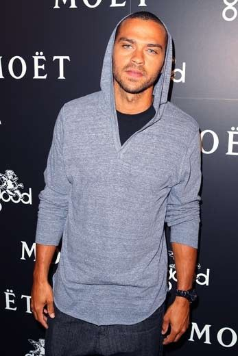 Jesse Williams...most beautiful eyes in the whole world!! The rest of him isn't bad either lol.