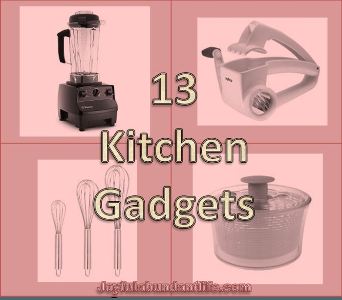 What are your favorite kitchen gadgets?