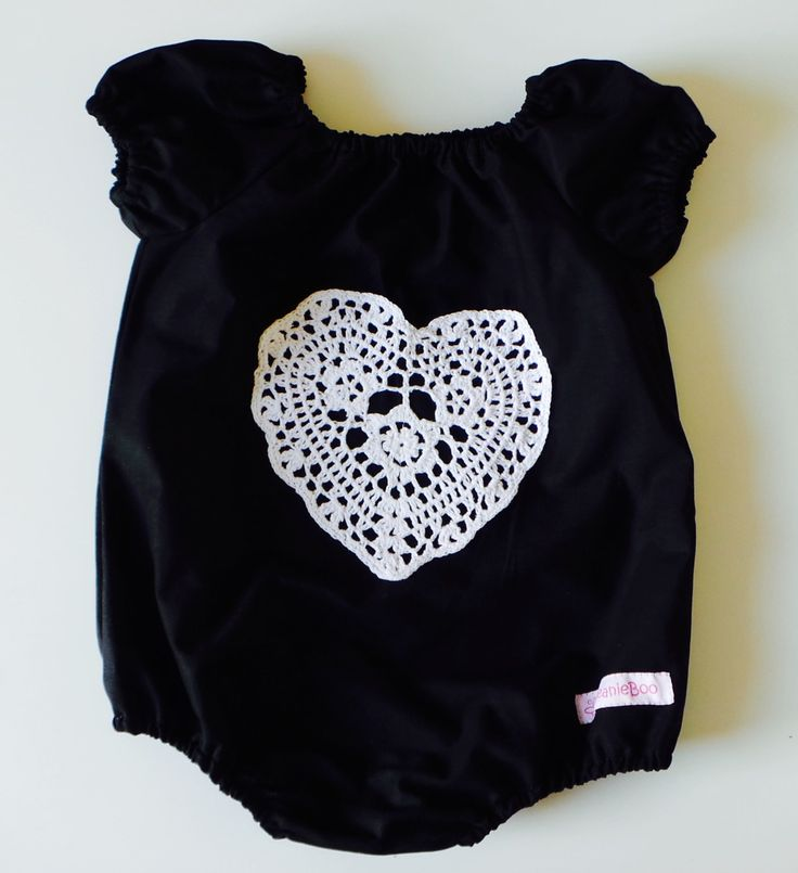 Rebel Heart Playsuit by BeanieBooKids on Etsy