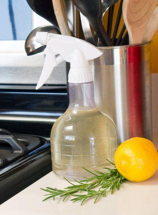 Rosemary-Lemon Food-Safe Kitchen Cleaner