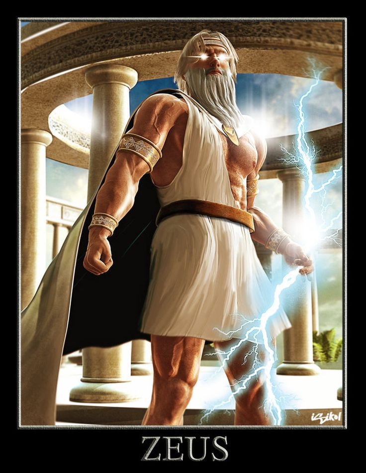 a look at the supreme god of the olympians zeus He made himself look as the oldest of the olympians,  according to god of war iii, zeus has had thoughts of revenge against his father cronos since a very early age.