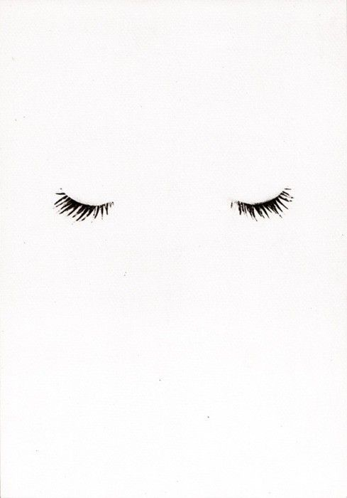 we love this simple lash print.