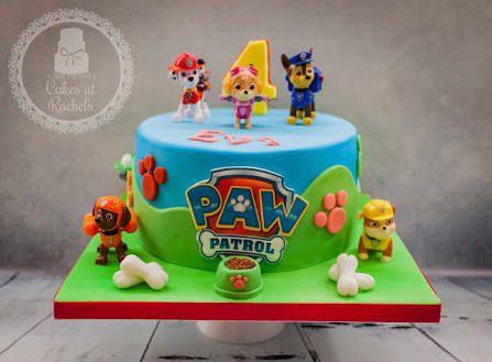 Torta de Paw Patrol. Ideal para una fiesta temática.
