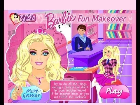 Barbie Girl Online Games Barbie Fun Makeover Game - See the video : http://www.onbrowser.gr/barbie-girl-online-games-barbie-fun-makeover-game/