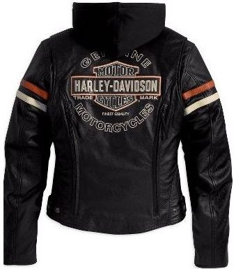 *Women's Harley-Davidson Enthusiast Leather Jacket For Sale 98142-09VW - $319.95 : Harley Davidson Jackets, Vintage Mens Jacket, Vests, Leather Jackets, harley jacket, Chaps, motorcycle gear
