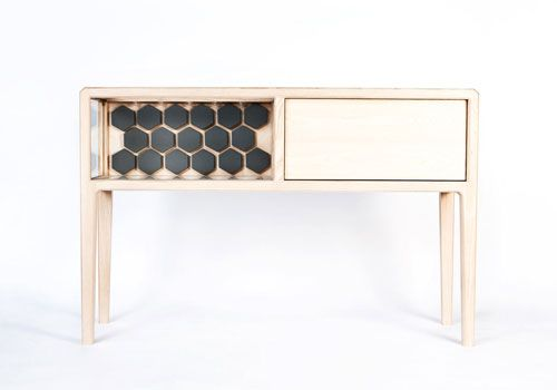 The Linnk Kabinet is a high-end, handmade liquor cabinet designed by New Zealand designer Ian Rouse.