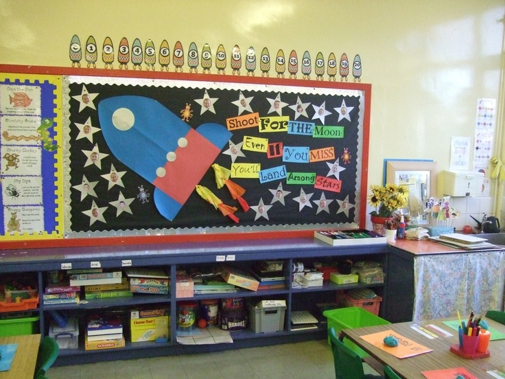 58 best classroom theme outer space astronauts nasa images on pinterest outer space - Outer space classroom decorations ...