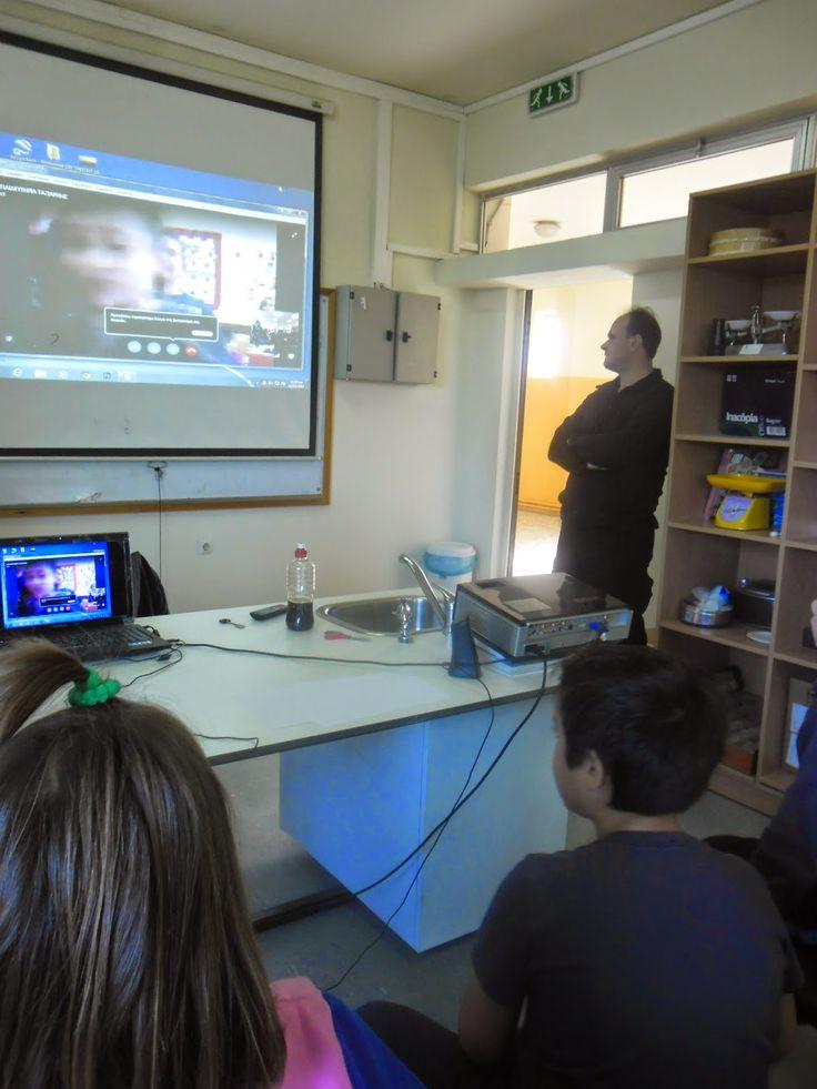 ταξίδι στη γνώση: etwinning -skype και χαμόγελα