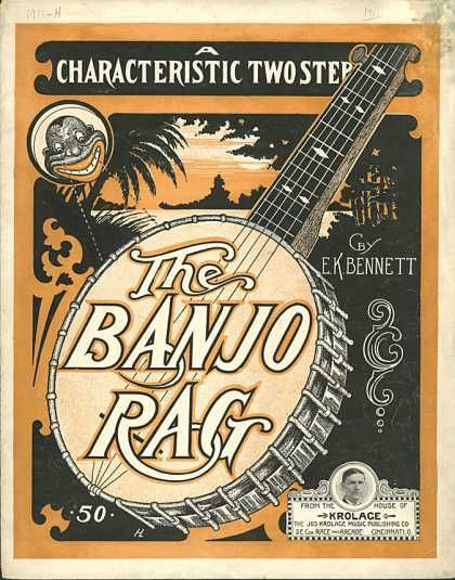 Sheet Music - The banjo rag