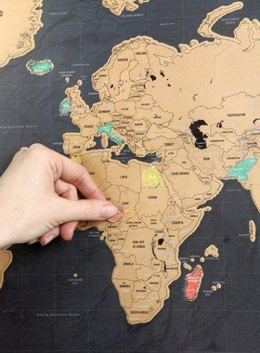 """Résultat de recherche d'images pour """"carte du monde à gratter urban outfitters"""""""