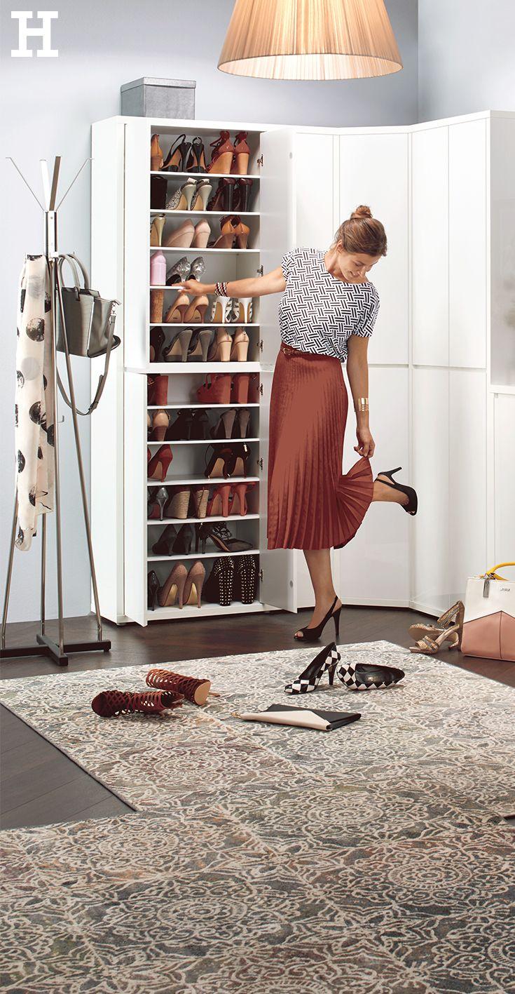 Schuh Und Mehrzweckschrank Mit Spiegel Cabino Gefunden Bei Mobel