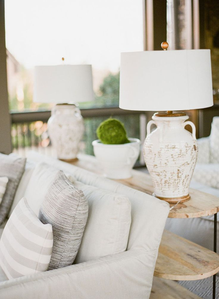 Serene Outdoor Oasis Featured on @restylesource  | Laura Ramsey Interiors. #lauraramseyinteriors #interior #design #leeloveslocal #shoplocal #outdoor #space #neutral #grey #white @dashandalbert @leeindustries @laneventure