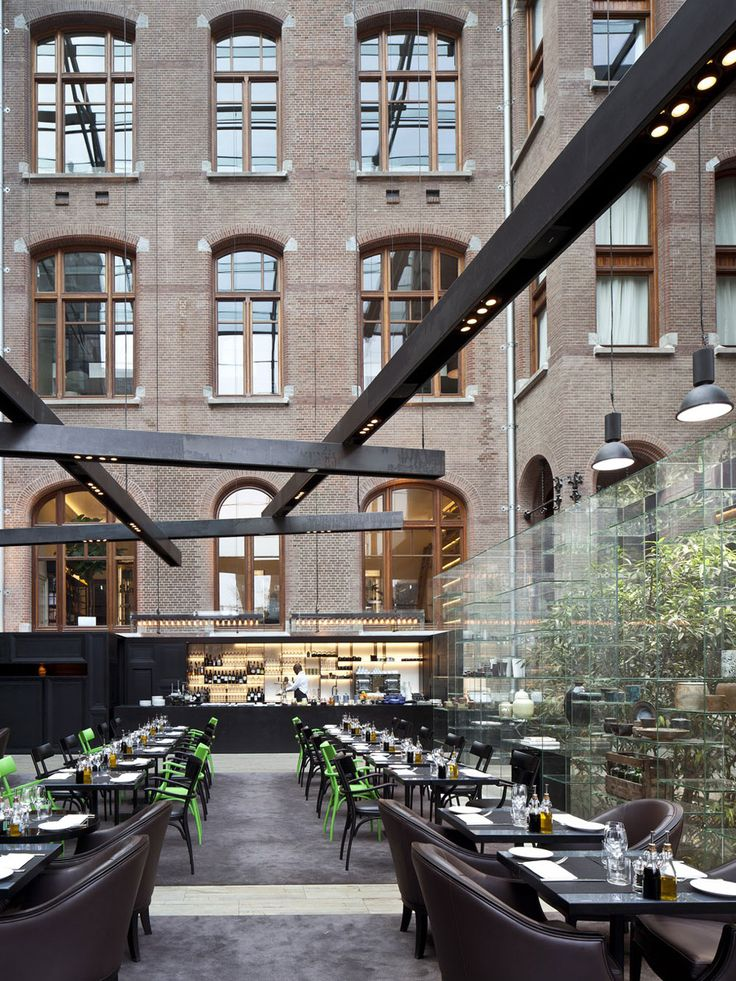 Conservatorium Hotel Amsterdam, Netherlands/Piero Lissoni