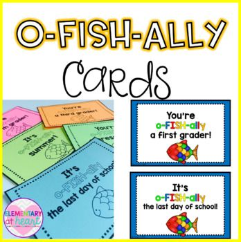 Colored and BW included of: - You're o-FISH-ally a preschooler! - You're o-FISH-ally a kindergartner! - You're o-FISH-ally a first grader! - You're o-FISH-ally a second grader! - You're o-FISH-ally a third grader! - You're o-FISH-ally a fourth grader! - You're o-FISH-ally a fifth grader! - You're o-FISH-ally a sixth grader! - It's o-FISH-ally the last day of school! - It's o-FISH-ally the 1st day of school! - It's o-FISH-ally summer!