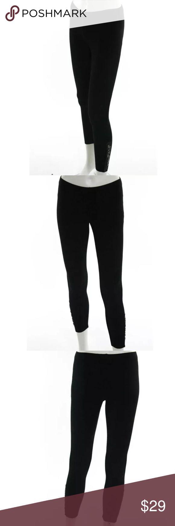 GRAHAM & SPENCER BLACK SKINNY LEGGINGS SIZE XS Graham & Spencer black skinny studded leggings size XS Graham & Spencer Pants Leggings