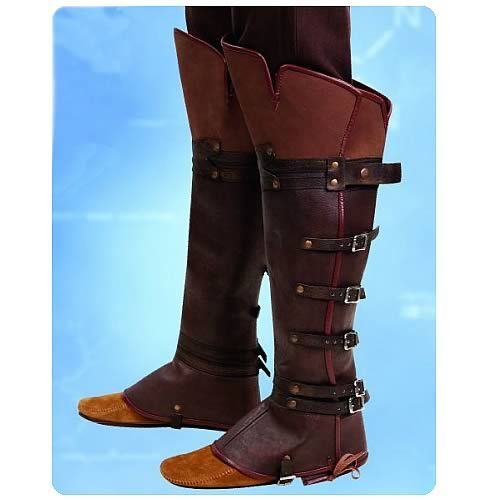 Assassin's Creed Costume Pattern   Assassin's Creed Ezio Boot Toppers Replica - Free Shipping