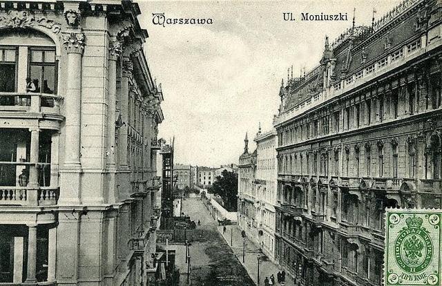 Moniuszki St, Warsaw 1939-44