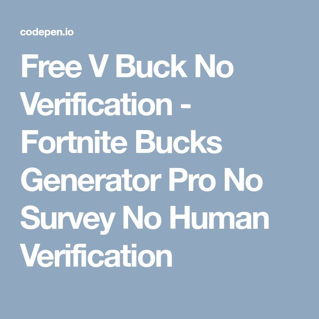Free V Buck No Verification Fortnite Bucks Generator Pro No Survey