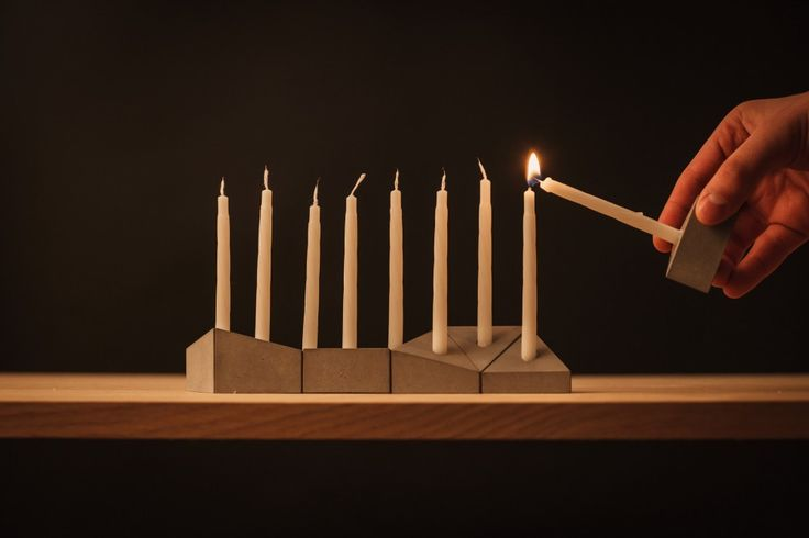 It's pretty rare to find a menorah that's got a decent sense of design, especially one for just $50!