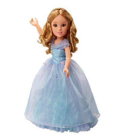 Princess & Me Disney Cinderella Live Action 18 Inch Doll